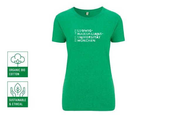 Nachhaltiges T-Shirt Lady Grün - Restposten