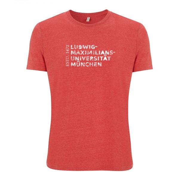 Nachhaltiges T-Shirt Unisex Rot