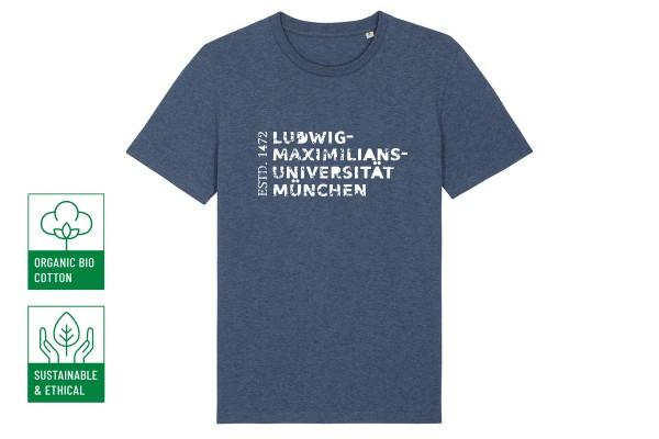 Nachhaltiges T-Shirt Unisex Blau